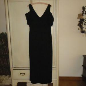 Φόρεμα μαύρο μάξι