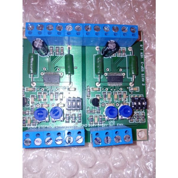 polite Stepmasternc 2 axis step motors controller