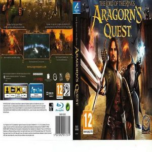 THE LORD OF THE RING ARAGONS QUEST  - PS3