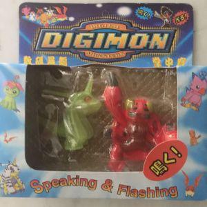 Digimon battery figures (σφραγισμένα) 4 κομματια πακετο