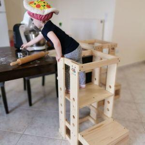Learning Tower, Πύργος Εκμάθησης Μοντεσσόρι, Βοηθητικό σκαμπό, Βοηθός Κουζίνας, Καρέκλα