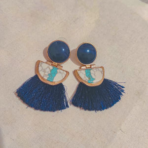 Σκουλαρίκια μπλε συλλεκτικά