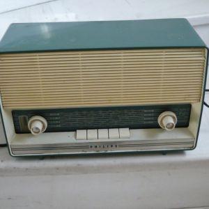 ραδιο  με  λαμπες  λειτουργικο