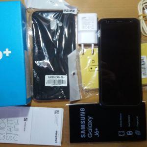 Samsung J6 Plus Black   Σαν καινουριο.!!!!!ΝΕΑ ΤΙΜΗ !!ΣΤΑ 110 ΕΥΡΩ!!ΕΥΚΑΙΡΙΑ!!!