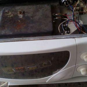 microwave με γριλλ για ανταλλακτικα