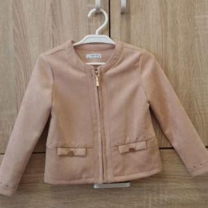Παιδικο σακακι ΜAYORAL για κοριτσι πολυ απαλο βελουτε για 2-3 χρονων 9 Ευρω