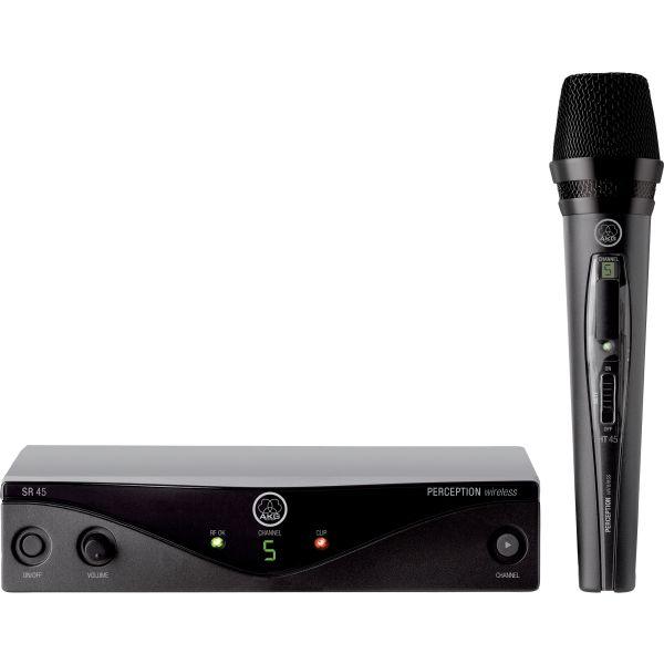 AKG WMS45 VOCAL SET asirmato mikrofono chiros 5 sichnotiton gia tragoudi & omilies