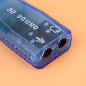 USB Μπλε Καρτα Ηχου Υπολογιστη