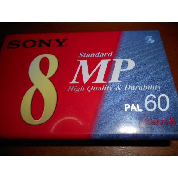 BINTEOKAseta   SONY STANDARD 8 MP PAL 60 VIDEO 8 NEW & SEALED HIGH QUALITY DURABILITY