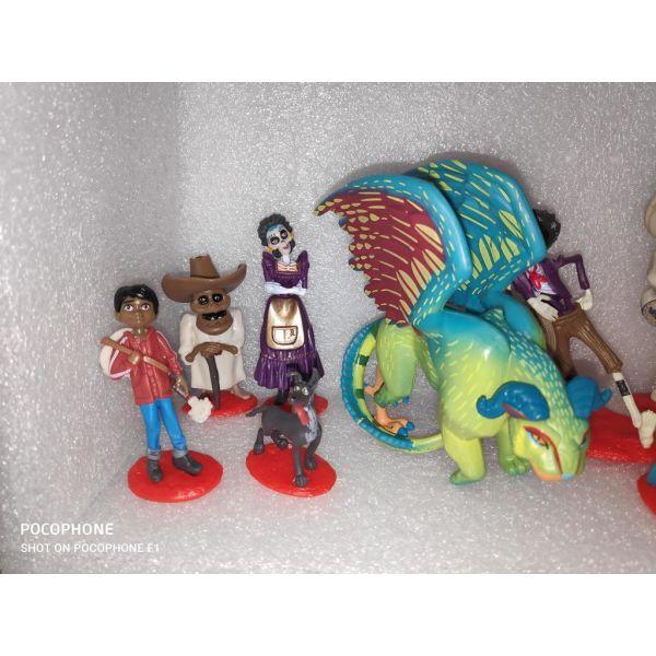 9 figoures Coco Cartoon Disney Pixar
