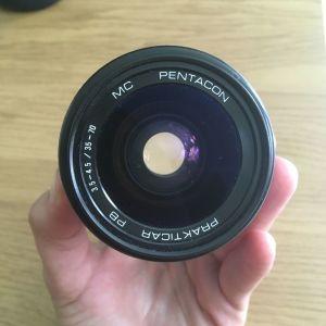 Συλλεκτικός φακός Pentacon Prakticar 35-70 mm f/ 3.5-4.5 MC