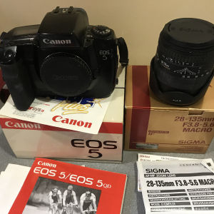 canon eos 5 φωτογραφική μηχανή