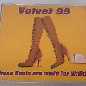 Velevet 99 - These boots are made for walkin' 5-trk cd single