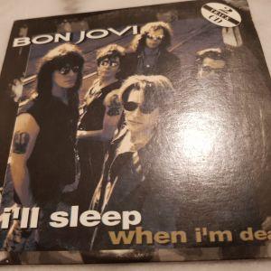 "BON JOVI – ""I'll sleep when I'm dead"" (Mercury) hard rock (cd single)"