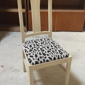 Καρέκλα λευκή ντεκαπε