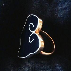 Ασημένιο δαχτυλίδι χειροποίητο