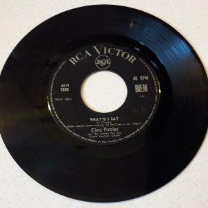 Vinyl record 45 - Elvis Presley
