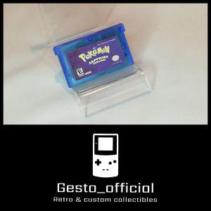Pokemon Sapphire Version Game Boy Advance Cartridge Gesto_official