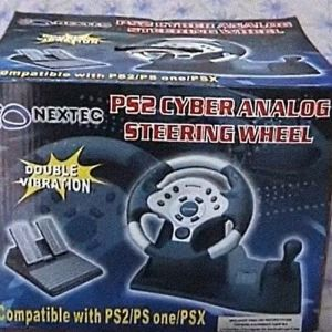 Τιμόνι PS2 Cyber Analog Steering Wheel [Nextec]