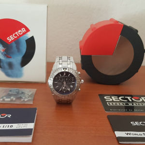 Sector 650 Chronograph Swiss Made Sapphire Crystal 200m watch