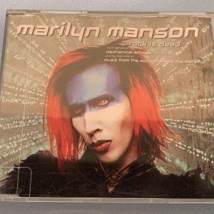 Marilyn Manson - Rock is dead 3-trk cd single