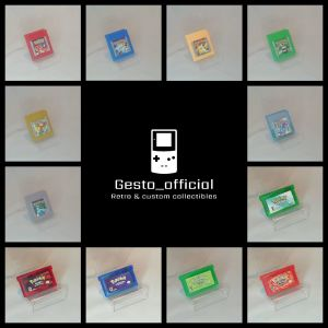 Pokemon GameBoy & Gameboy Advance Cartridge Gesto_official