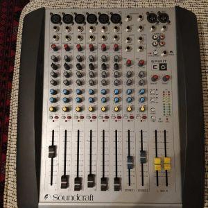 Κονσόλα Soundcraft Spirit E6