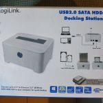 LogiLink QP0015 Docking Station Σκληρών Δίσκων HDD USB 2.0 SATA