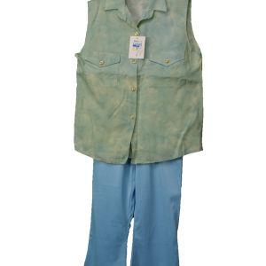 Vintage set με παντελόνι για κορίτσια 1990s