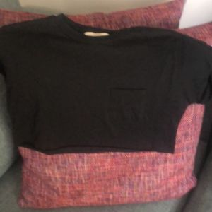 Pull and Bear cropped μπλούζα