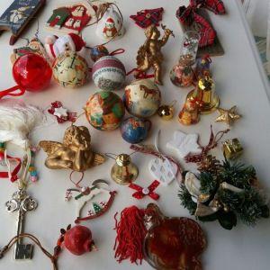 Χριστουγεννιάτικα στολίδια δέντρου