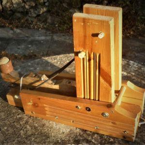 Καταπέλτης Ξύλινος (Ιδιοκατασκευή), Πολύ Δυνατός, Εξαιρετικά Γερή Κατασκευή (Διαστάσεις: 60cm X 42cm X 18cm)