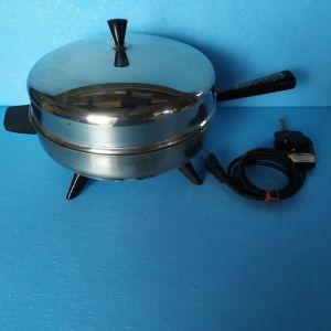 τηγανι πλακερο,ανοξειδωτο,αμερικανικο FARBEWARE 310-A,110 VAC