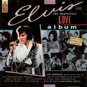 "ELVIS PRESLEY ""THE DEFINITIVE LOVE ALBUM"" - CD"