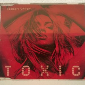 Britney Spears - Toxic made in the EU 4-trk cd single