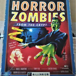 Πωλείται vintage παιχνίδι HORROR ZOMBIES FROM THE CRYPT για AMIGA