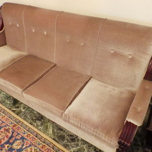 Καναπές τετραθέσιος & πολυθρόνες - ΣΑΛΟΝΙ