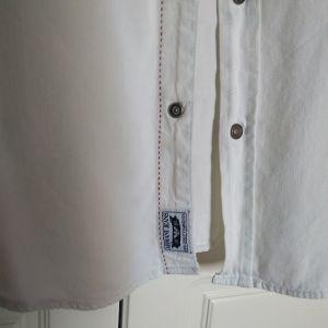 Τζιν πουκάμισο armani jeans large λευκο
