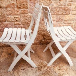καρεκλες εξωτερικου χωρου πτυσσόμενες  3ΤΜΧ  Μαζί με το μαξιλάρι τους ( Made in Italy)