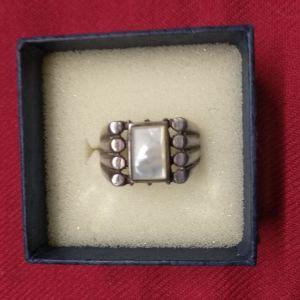 Unisex ασημένιο δαχτυλίδι