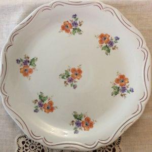 Vintage πορσελάνινο πιάτο 30 cm
