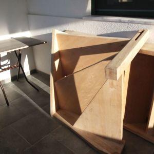 Σκαλα ξύλινη εσωτερικού χώρου,