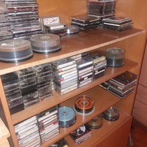 ΣΠΑΝΙΑ cd dvd κασετες βιντεοκασετες
