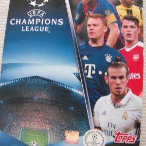 UEFA CHAMPIONS LEAGUE 2016-2017 TOPPS
