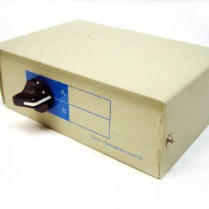 Κουτί διακόπτη μεταφοράς δεδομένων Περιστροφική 2 θέσεων 3 Port