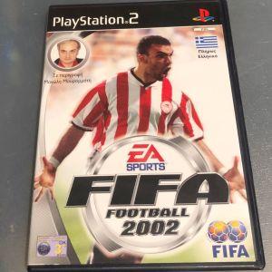 PS2 Game -FIFA FOOTBALL 2002