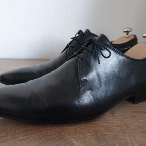 Alberto Guardiani Made in Italy size 44 Ανδρικα Παπουτσια Δερμα Αυθεντικα 100%