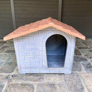 Σπίτι Σκύλου EURO3PLAST 100x80x80 LARGE 'HAPPY DOG' Ιταλίας