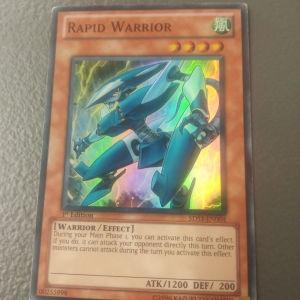 Rapid Warrior (Super Rare)
