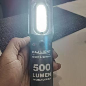 ΠΩΛΕΙΤΑΙ ΦΑΚΟΣ LED HAJ LIGHT 500 lmn ΕΠΑΝΑΦΟΡΤΙΖΟΜΕΝΟΣ